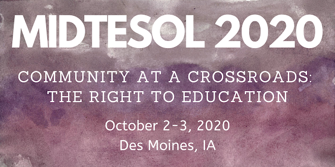 #MIDTESOL20 is coming!
